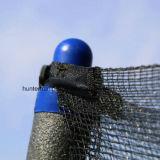 [14فت] مستديرة اللون الأزرق 6 ساق [ترمبولين] مع أمان إحاطة