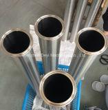 """2 de """" Sanitaire Roestvrij staal Vastgeklemde Pijp van de Metalen kap"""