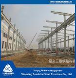 Struttura d'acciaio prefabbricata dell'ampia luce di disegno industriale
