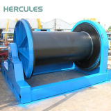 Grúa hidráulica de calidad superior ampliamente utilizada del torno para el barco