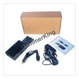Hot de nouveaux produits de la sécurité industrielle 5 bandes pour tous les Téléphone cellulaire, télécommande, radio VHF/UHF brouilleur/bloqueur, Mini portable Brouilleur de Signal de téléphone cellulaire