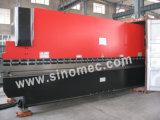 Wc67k-100t/6000 압박 브레이크 기계/유압 구부리는 기계