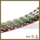 Le fil en caoutchouc de diamant a vu pour le coupage par blocs de granit (SY-DWSG)