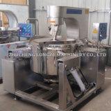 Seta comercial eléctrico Caramle automático de la producción de máquinas de palomitas de maíz de la línea de procesamiento en línea