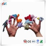 Океан животных палец куклы Мягкая игрушка для малыша с другой стороны образования морских животных палец куклы мягкие игрушки для детей история время 10 ПК