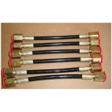 Boyau hydraulique du test M14*1.5 pour le longeron courant, 2500bar /3000bar