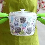 シリコーンの手袋のオーブンのミットのホールダーの台所ベーキングマイクロウェーブシリコーンの耐熱性手袋