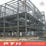 Structure en acier de construction préfabriqués pour l'Entrepôt/atelier/Shopping Mall