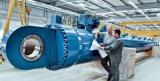 Cilindro hidráulico ativo dobro do curso longo grande do tamanho