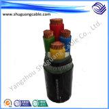 De vuurvaste Vuurvaste Kabel van de ElektroMacht van de Schede van pvc van de Isolatie XLPE Gepantserde