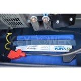 25kw青いカラー防音の発電機のディーゼル