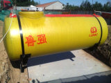 ISO-UL-Bescheinigung-unterirdisch Doppeltes geummauerter Kraftstofftank