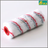 빨강과 Grey Strips Acrylic Paint Roller (Dia40mm)