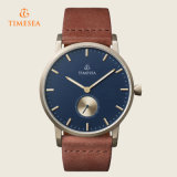 Timesea Marque Montre-bracelet en cuir Quartz Mens Watch 72248