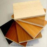 Tarjeta/madera contrachapada del MDF del modelo del grado de los muebles de la fábrica (LINYI)