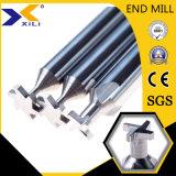Con ranura en T de alto rendimiento extremo cortador Mill Bits