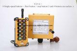 Telecomando senza fili della gru industriale di Telecrane di telecomando dei 8 tasti