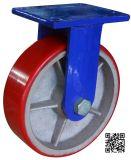 10 Zoll Extrahochleistungs-PU auf Eisen-Fußrollen-Rad