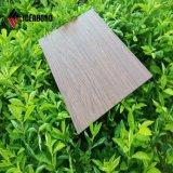 4mm木パターンアルミニウム合成のパネル