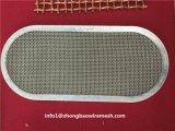Tecidos de malha de arame de aço inoxidável Filtro/disco filtrante do filtro de Extrusão de plásticos/Tela do disco