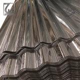 Folha de aço ondulada galvanizada construção da telhadura de Dx51d