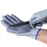 13G серый провод фиолетового цвета с покрытием к среза стороны перчатки