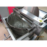 Diseño profesional de la máquina de fritura automático de acero inoxidable