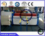W12S-25X2500 4 plaque en acier du rouleau de pliage et de la machine de laminage