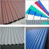 Ligne en carton ondulé unique/multi de PVC de couche d'isolation thermique de &Step de toiture d'extrusion