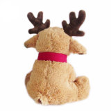 Na moda renas Natal Promocional de brinquedos para bebés programável de pelúcia
