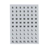 Papier périodique d'autocollant de nombre d'alphabet de flèches faites sur commande