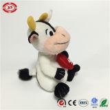 Plush Nouvelle séance farcies populaire Heart Love mignonne vache Toy