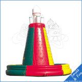 膨脹可能なスポーツの子供のためのセリウムのブロアが付いている上昇の壁のおもちゃ