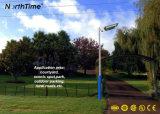 3 Openlucht LEIDENE van de Garantie Ce/RoHS van de Zonnejaar Straatlantaarn