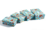 Pas Ontwerp aan Afdrukkend het Grappige Vakje van de Gift van het Stuk speelgoed van Kinderen Verpakkende Document Genestelde
