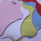 Syce286-1081. Nueva moda repujados en cuero de microfibra para damas Zapatos, bolsos