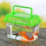 Tanque de peixes plástico do aquário portátil dos peixes