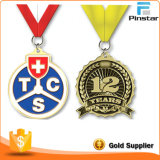 Медаль изготовленный на заказ металла золота пожалования идущее