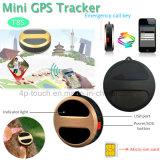 Le traqueur de la forme ronde GPS avec GPS+Lbs conjuguent plaçant (T8S)