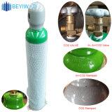 Beyiwod 2L/4L/5L/10L/20L/40L/47L/50L svuota le bombole per gas d'acciaio azoto/argon/del CO2/dell'ossigeno