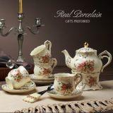 Le dîner ensemble cadeau promotionnel nécessaire à thé de la céramique vaisselle en céramique