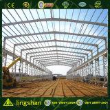 Preço pré-fabricado do armazém das construções de aço da grande extensão