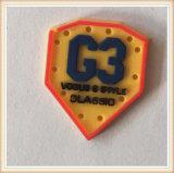 Do nome feito sob encomenda do logotipo 3D da fábrica do OEM correções de programa de borracha do PVC