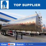 Titaan 3 de Semi Aanhangwagen van de Tanker van de Brandstof van het Aluminium van Assen