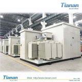 송전 또는 배급 35kv~132kv 이동할 수 있는 Prefabricated 변전소