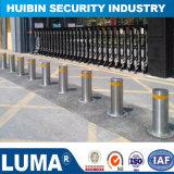 Le contrôle des accès Bollard semi-automatique du système de sécurité avec avertissement