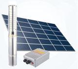 Neue angeschaltene Wasser-Pumpe Gleichstrom-Solarwasser-Solarpumpe