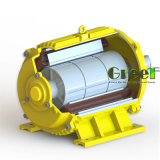 1KW 150rpm gerador magnético, Fase 3 AC gerador magnético permanente do vento, a utilização da água com Baixa Rotação