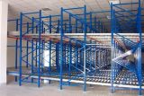 Racking do fluxo de pálete do armazenamento do armazém da gravidade