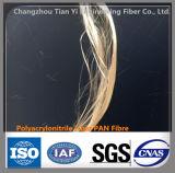 Fibra del polimero delle fibre di Microfiber Polyacrylonitrile per cemento o Motar